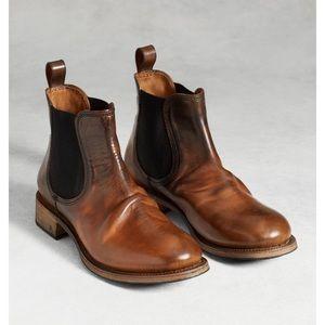 John Varvatos Vintage Italian Chelsea Boots
